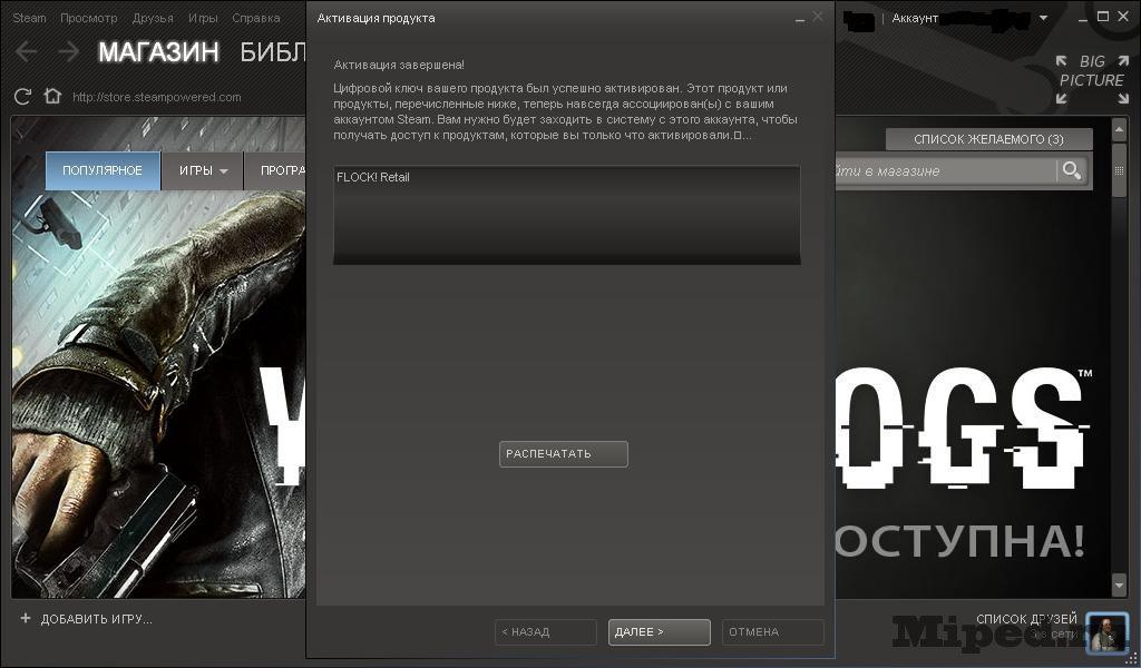 как активировать игру в Steam - фото 9