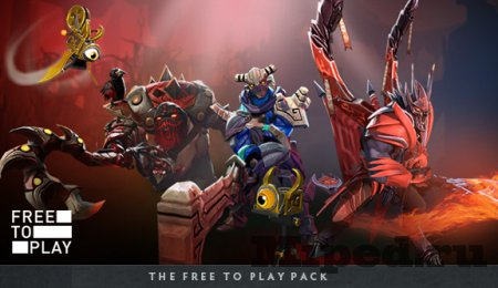 Как заработать на Free to play Competitors Pack для Dota 2
