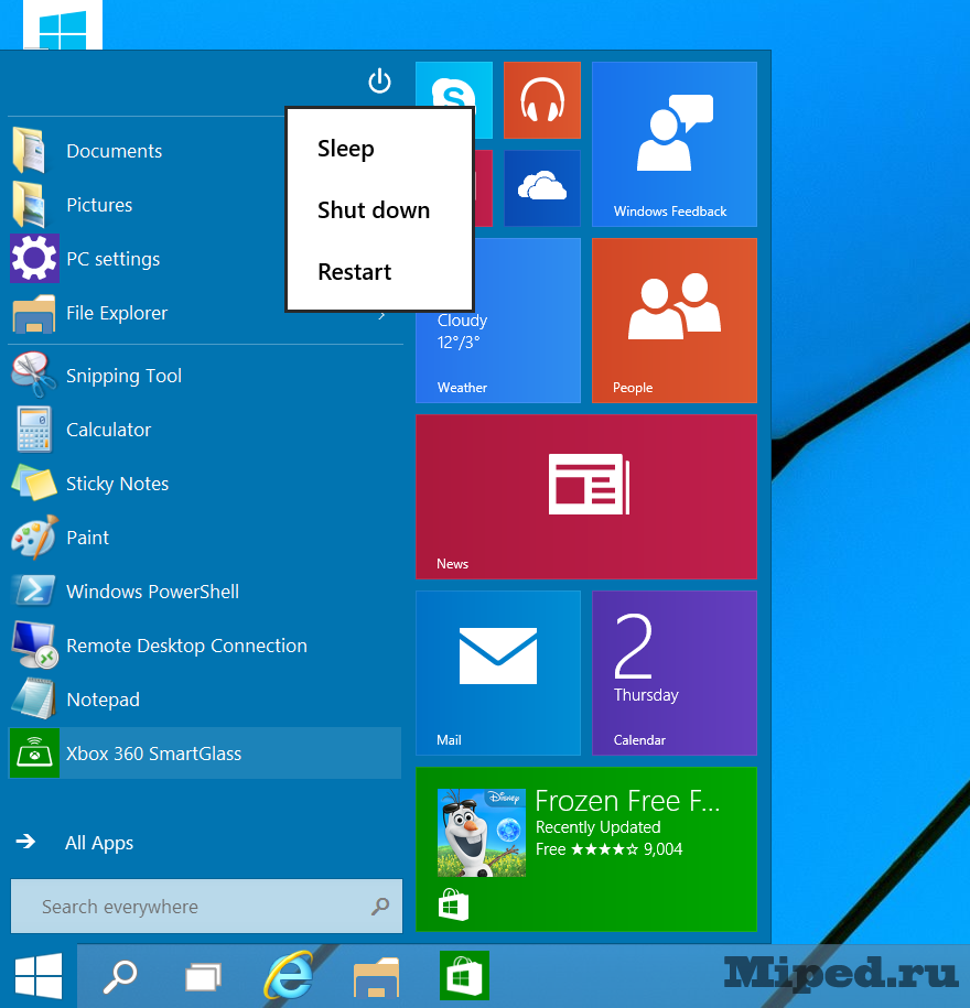 ��� �������� Windows 10 Technical Preview � ���������� �