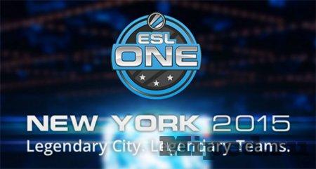 Как получать дроп с турнира ESL One New York