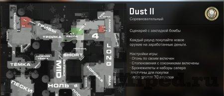 Как поставить обозначения на радаре в CS:GO