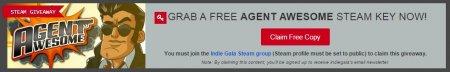 Игра Agent Awesome и как получить ее бесплатно в Steam