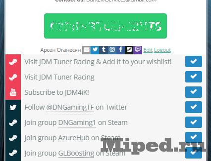 Игра JDM Tuner Racing и как получить ее бесплатно для Steam