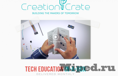��� ����� Raspberry Pi 2 � ��� �������� ��� ��������� �� Creation Crate